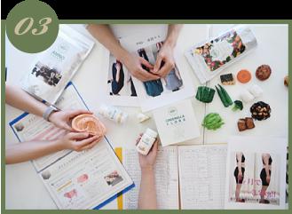フロー 食事管理・栄養学指導